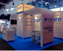 Bespoke Built Exhibition Stand for Global Software Company