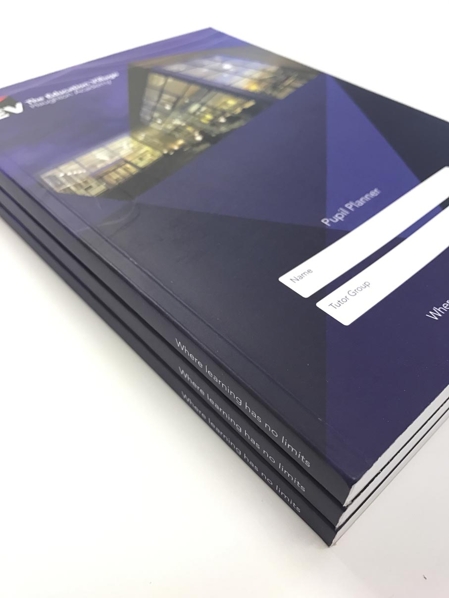 printed brochure for University