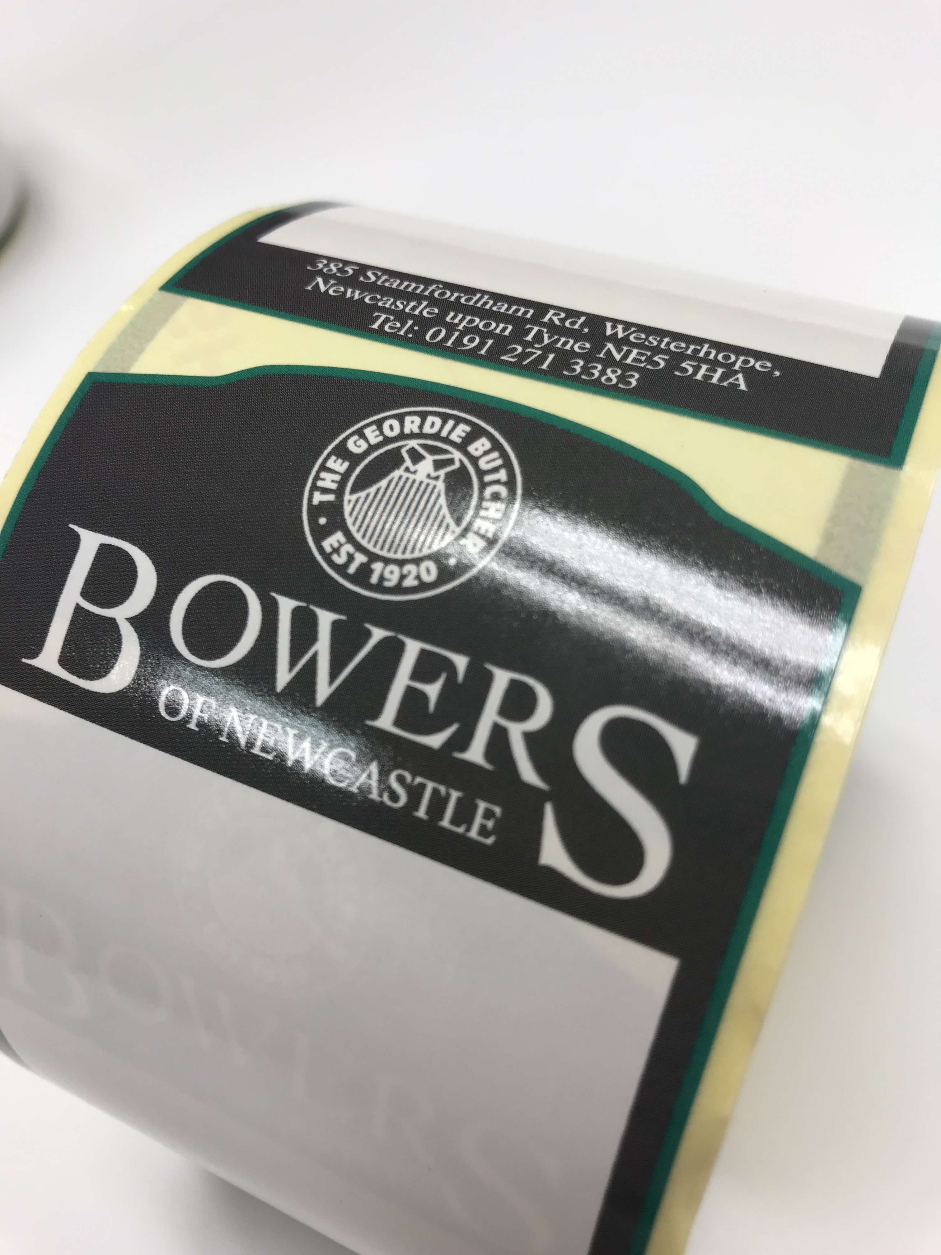 Direct Thermal Labels on Rolls